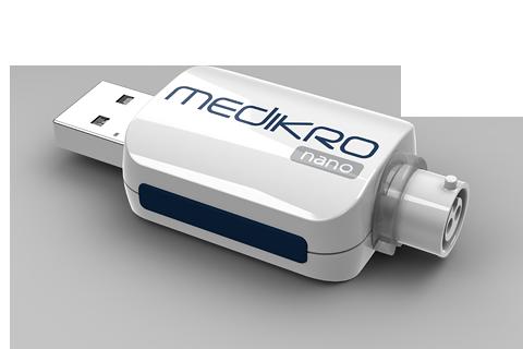 Medikro Nano spirometer - PC-basiertes Mobiles Spirometer