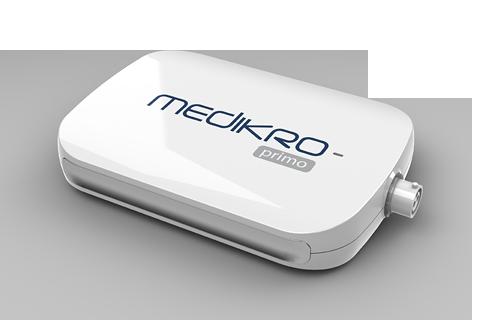Medikro Primo spirometer - PC-basiertes Spirometer für die Arztpraxis
